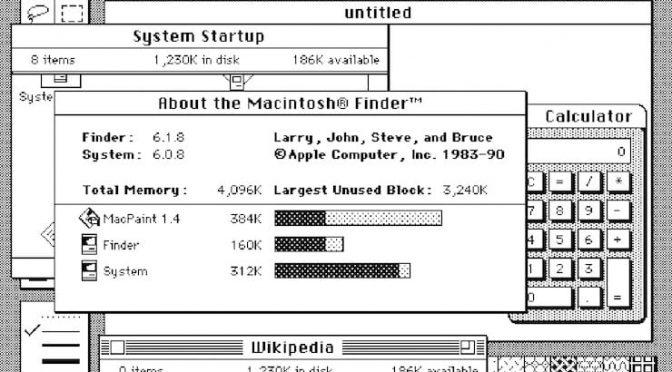 История операционной системы Mac OS