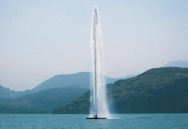 Дегазация озера