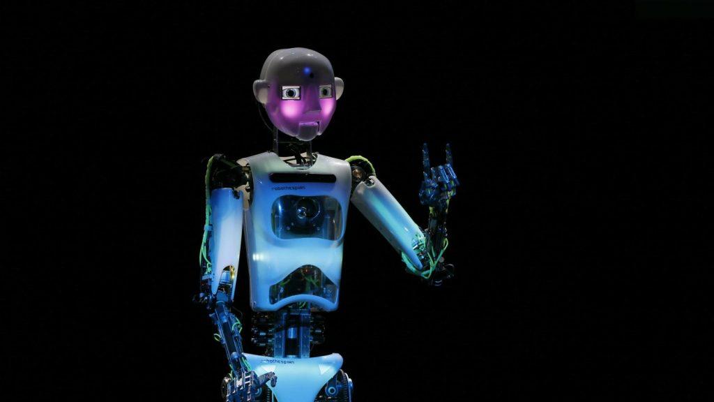 Робот-актёр RoboThespian