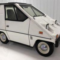В США продают необычный электромобиль – Citicar 1976 года