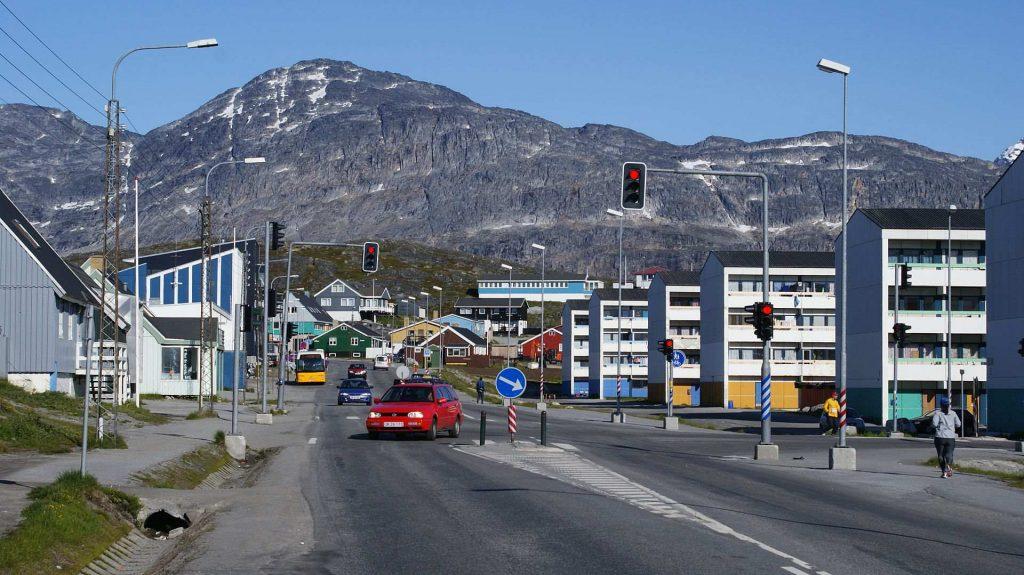 Центр столицы Гренландии - Нуук