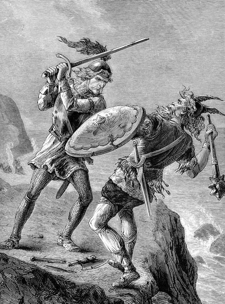 Эрик Рыжий убивает исландского вождя, именно из-за этого убийства он был изгнан из Исландии