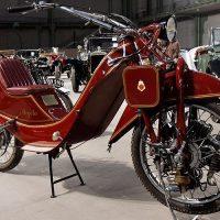 Megola — серийный переднеприводный мотоцикл из 20-х