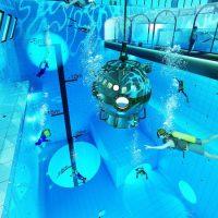 Deepspot – самый глубокий бассейн в мире