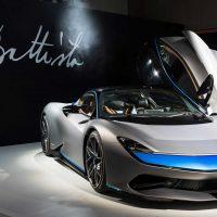 Pininfarina Battista – самый быстрый электромобиль в мире