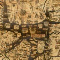 Херефордская Mappa Mundi – старейшая средневековая карта мира