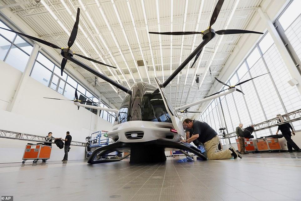 Skai - летательный аппарат на водородных топливных элементах