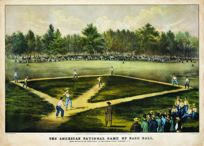 Бейсбол: происхождение неофициального символа США