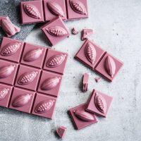 Натуральный рубиновый шоколад от компании Barry Callebaut