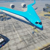 Flying-V: концепт V-образного самолёта авиакомпании KLM