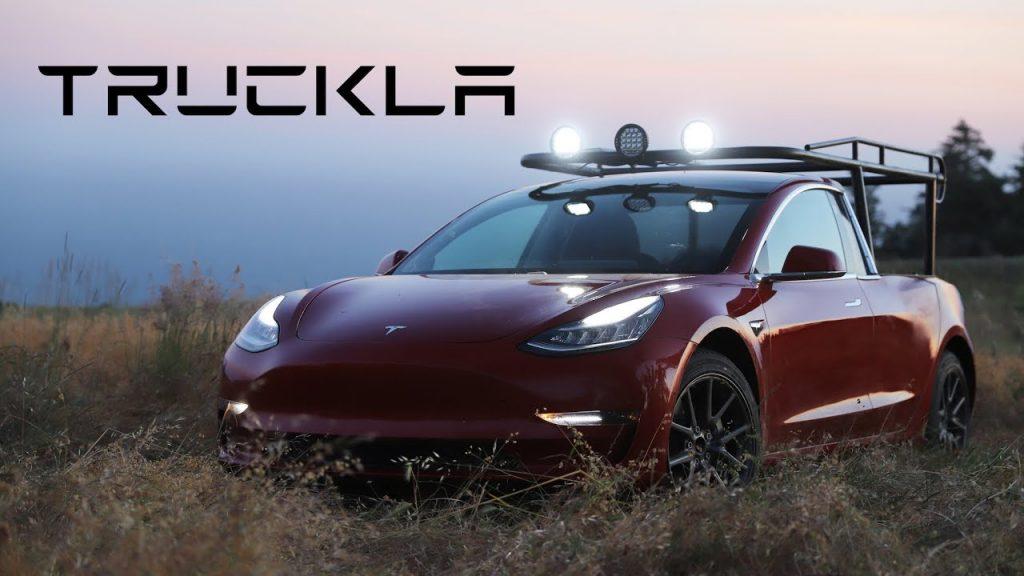 Влогер Симона Йетч представила собственную версию Tesla Pickup