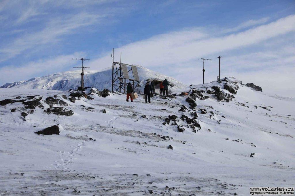 Одна из сейсмологических станций у вулкана Большая Удина / volkstat