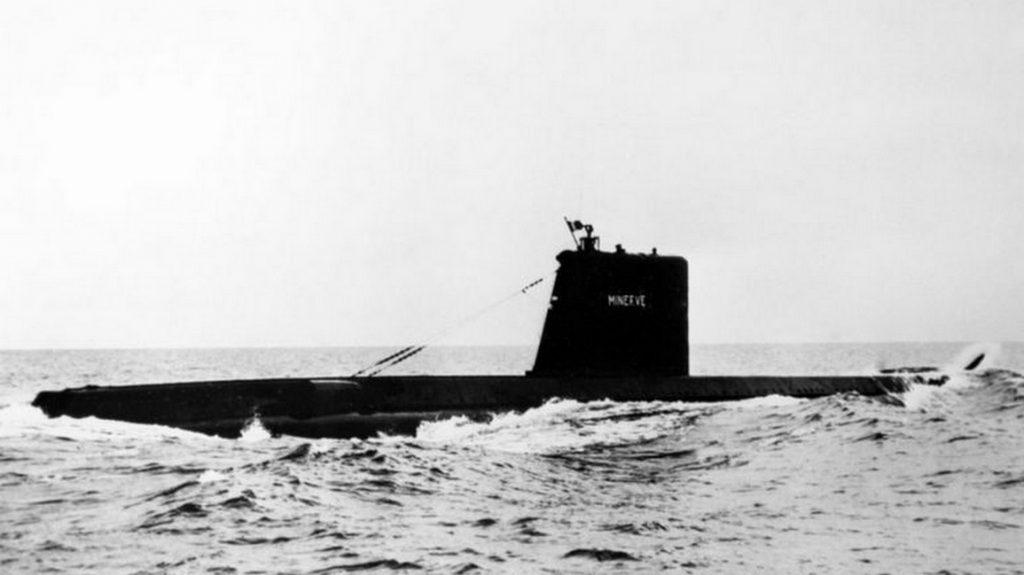 Французскую подлодку Minerve обнаружили через 50 лет после исчезновения
