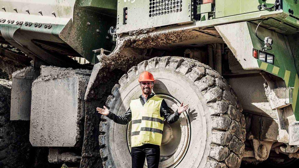 «eDumper» – самый большой электромобиль в мире