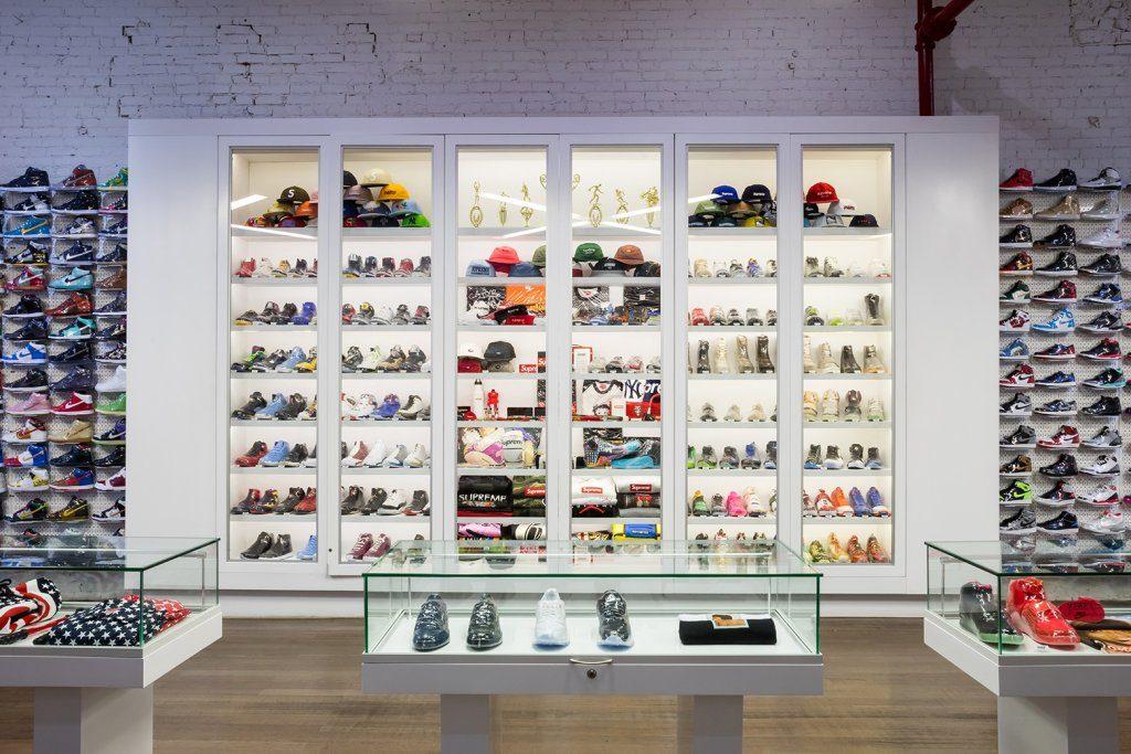 Sotheby's коллекция кроссовок