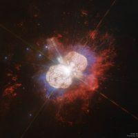 Телескоп Hubble сделал потрясающий снимок системы Eta Carinae