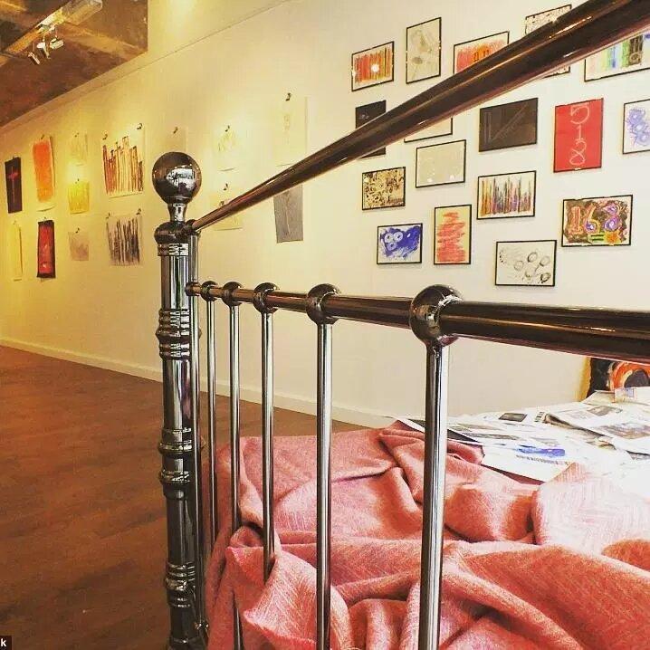 Ли Хадвин – уникальный художник-сомнамбула
