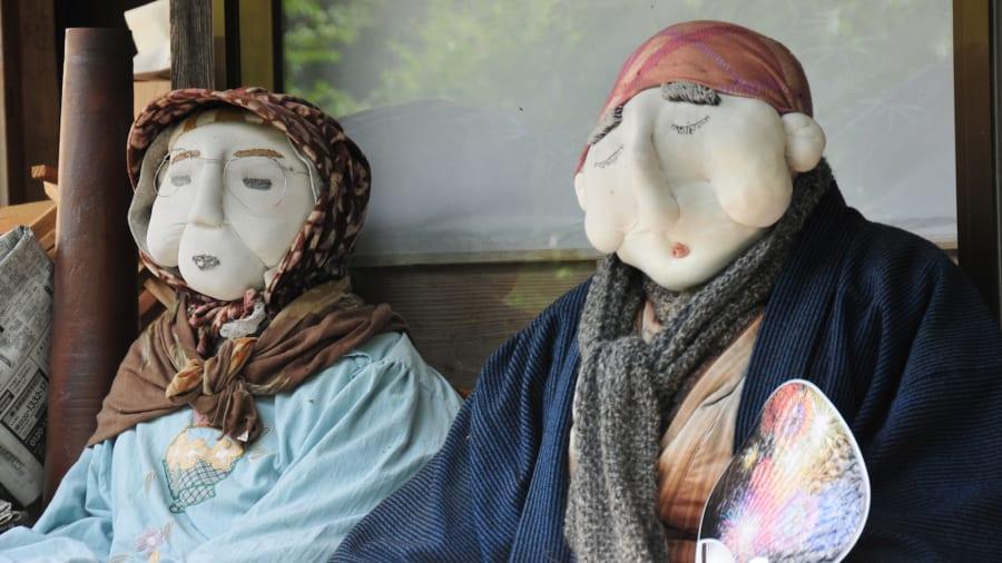 Нагоро – долина кукол в Японии