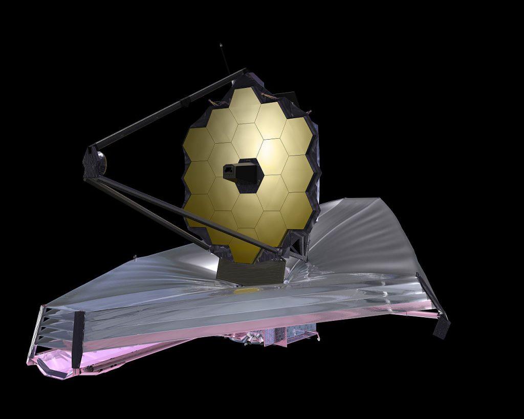 NASA завершили строительство телескопа James Webb