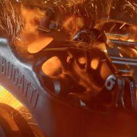 Уникальные тормозные суппорты для гиперкара Bugatti Chiron