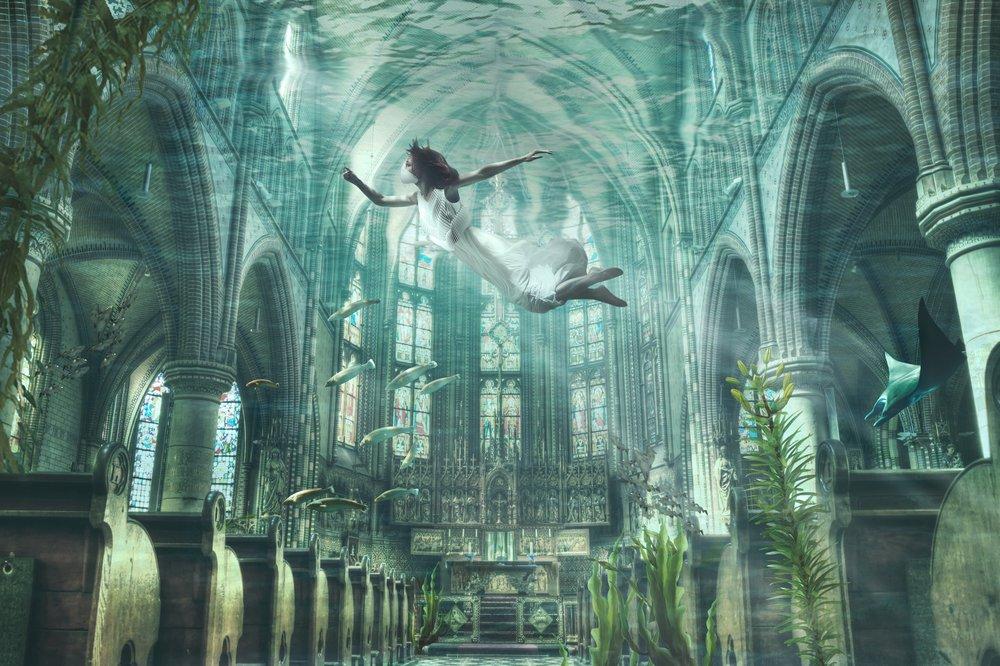 Искусственные жабры Amphibio от японского дизайнера Джуна Камэи