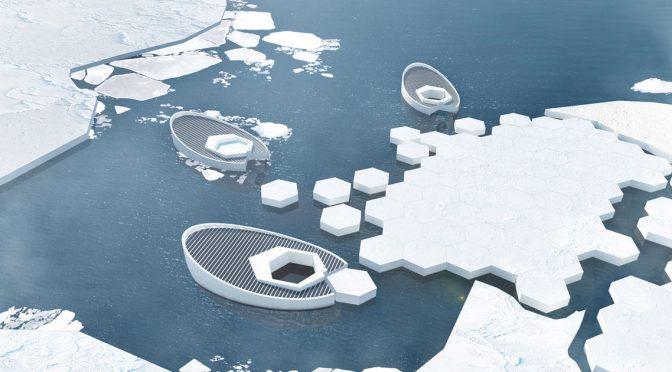 Индонезийские дизайнеры предложили проект по восстановлению ледников Арктики