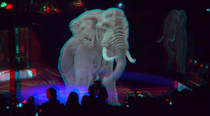 Circus Roncalli: первый цирк с голограммами вместо животных