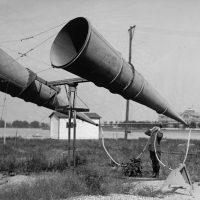 Военные тубы: акустические локаторы в боевых действиях