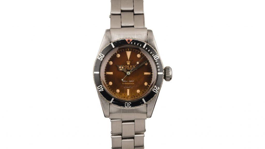 «Часы Джеймса Бонда» Rolex Submariner 6538