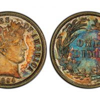 «Дайм Барбера 1894-S» продан за $1320000