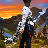 Японские учёные представили прототип робохвоста Arque