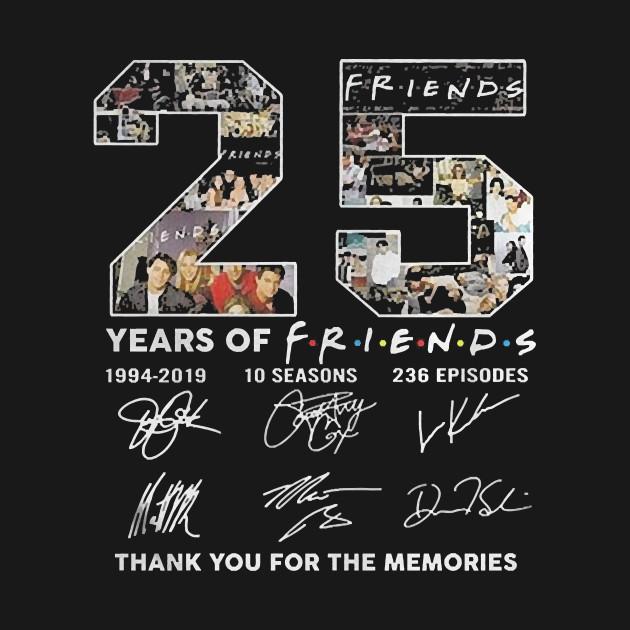 Культовому сериалу «Friends» 25 лет!