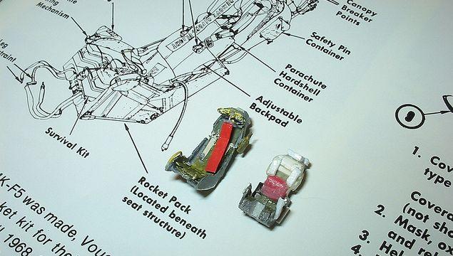 Как работает катапультируемое кресло?