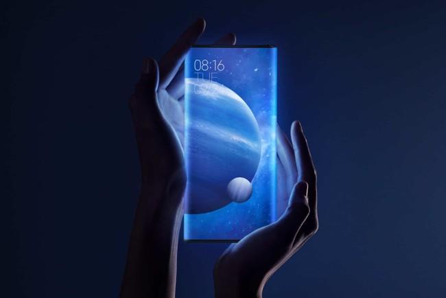 Xiaomi представила «бесконечный» смартфон Mi Mix Alpha