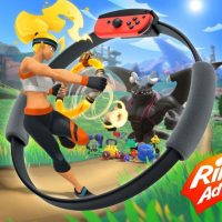 Ring Fit Adventure: фитнес-игра от Nintendo