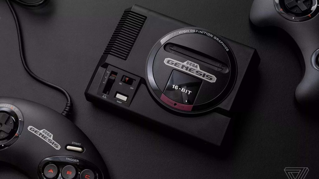 Ретро-консоль Sega Genesis Mini