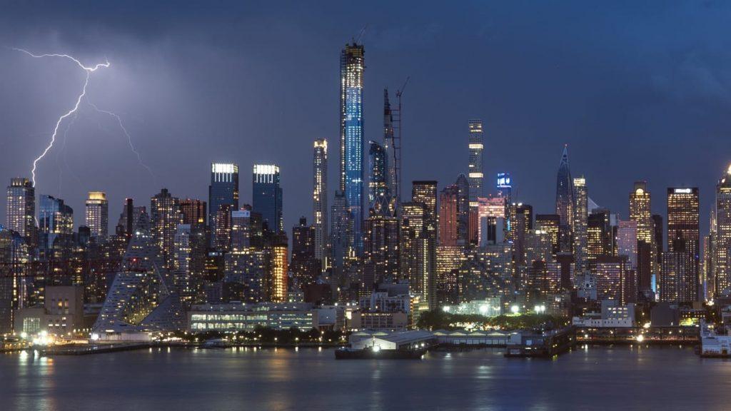 Таймлапс Нью-Йорка длиною в 30 лет