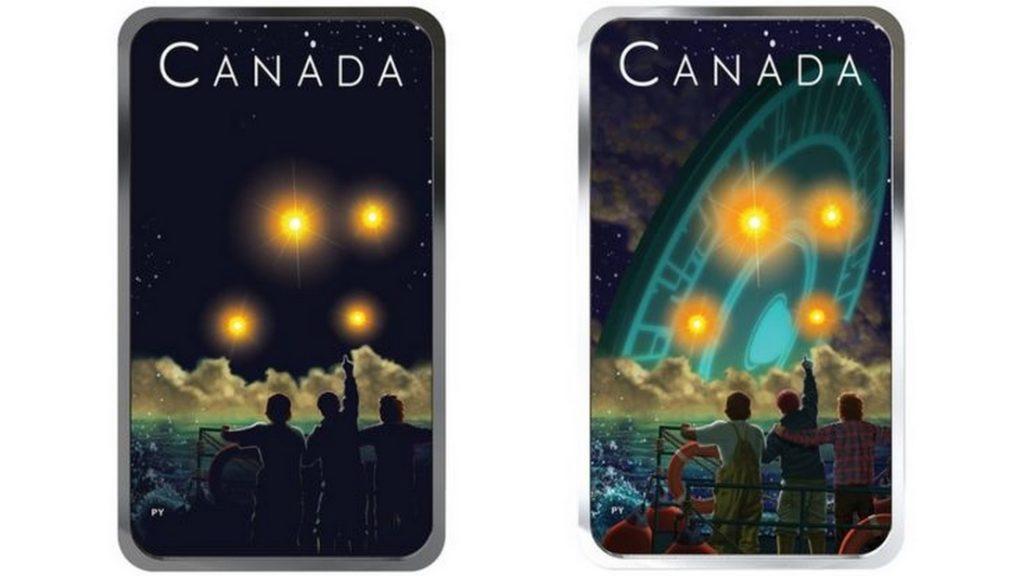 В Канаде выпустили коллекционную монету, посвящённую крушению НЛО