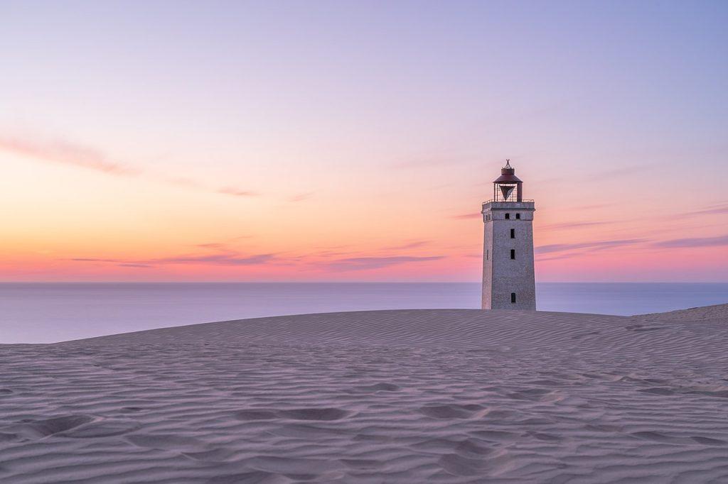 Спасение старинного маяка Rubjerg Knude
