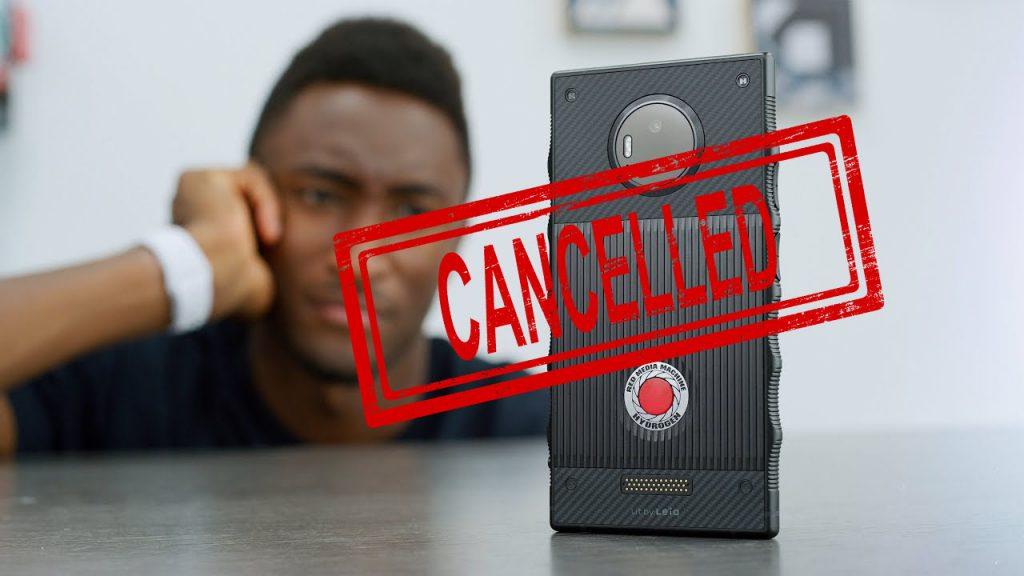Компания Red Digital Cinema объявила о закрытии проекта Hydrogen