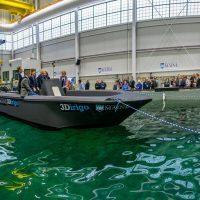 3Dirigo: самая большая лодка, напечатанная на 3D-принтере