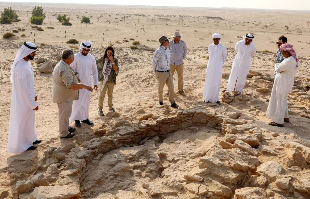 Старейшая в мире жемчужина «Абу-Даби»