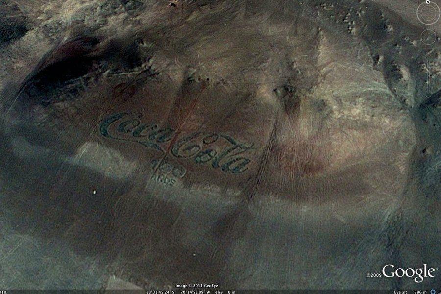 Интересные места в Google Maps и Google Earth / 2019