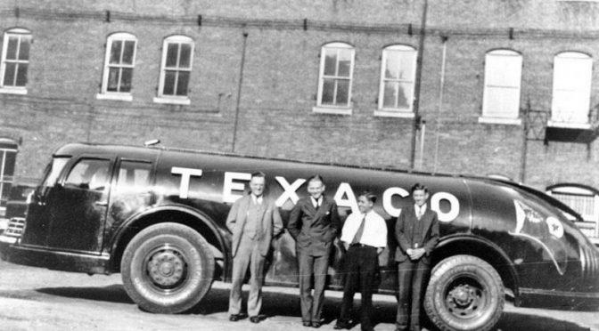 Diamond T Doodlebug — футуристический бензовоз Texaco из 30-х