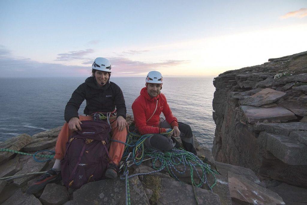 Джесси Дафтон: слепой альпинист, покоривший Старика острова Хой