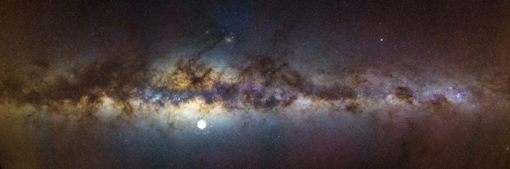 GLEAM: новый взгляд на Млечный Путь