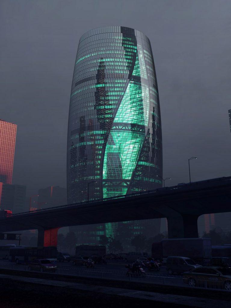 Leeza SOHO – самый высокий атриум в мире