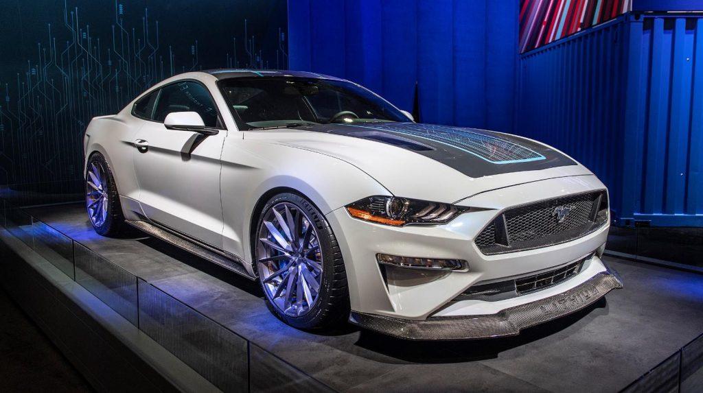 Mustang Lithium – полностью электрический пони-кар от Ford Motor Company