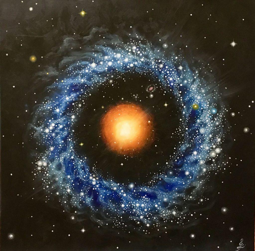 Объект Хога – таинственный космический турдакен