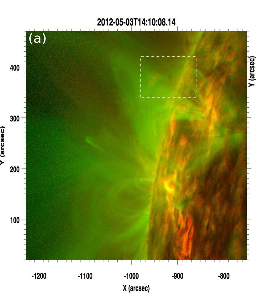 В атмосфере Солнца зафиксирован новый тип магнитного взрыва